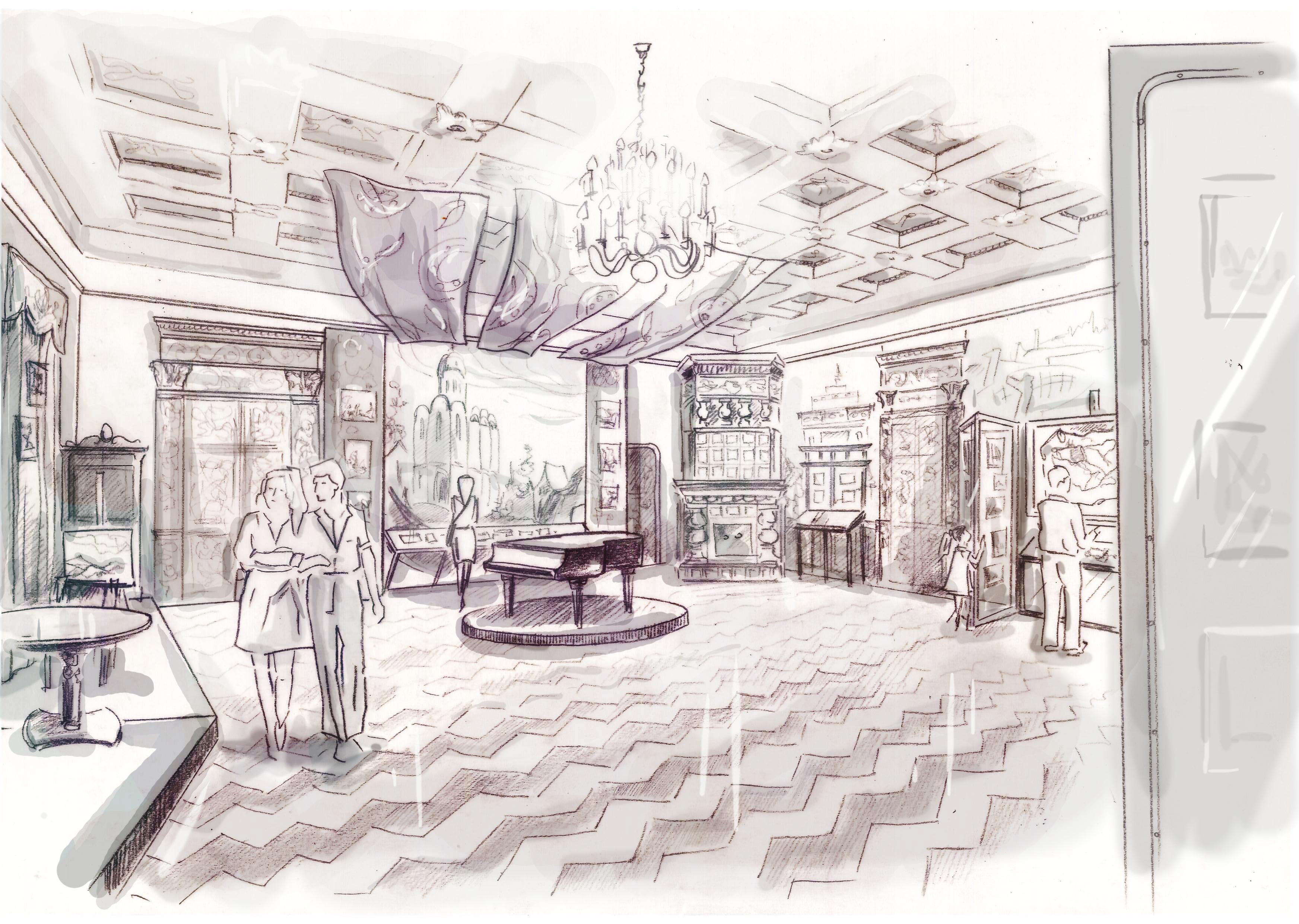 Концепция экспозиций центрального зала