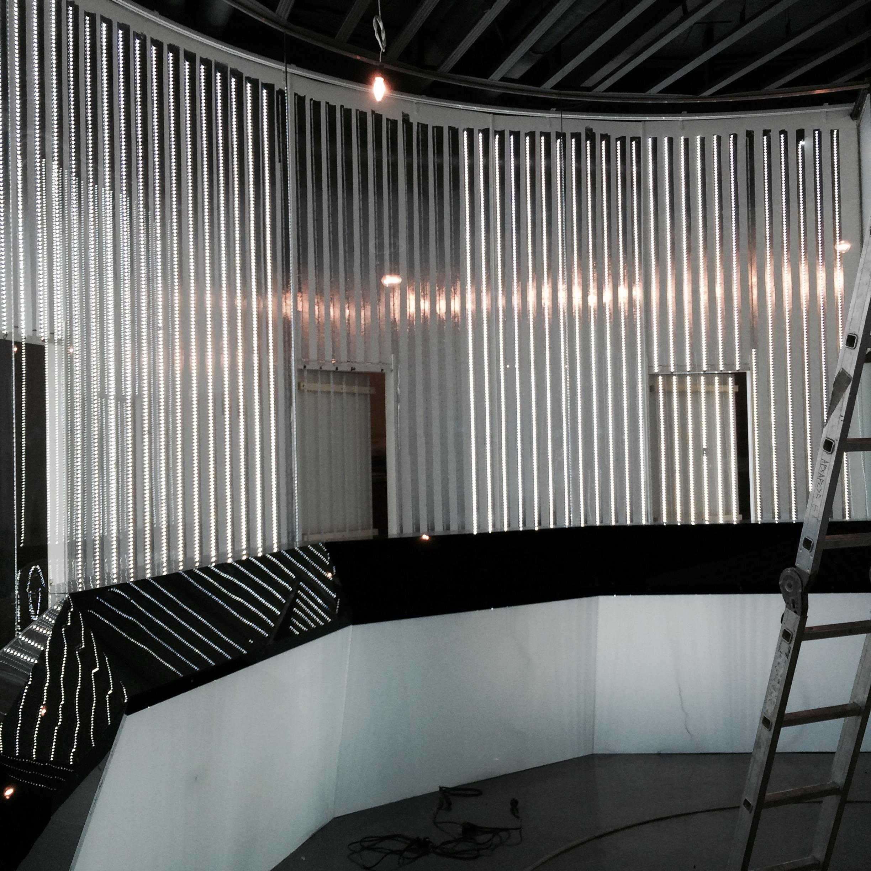 Белый зал в период реконструкции