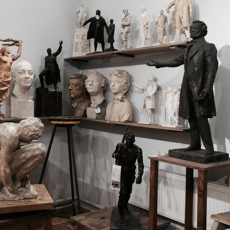 Множественные варианты скульптур